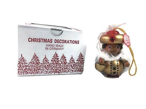 Original Red Tag Steinbach Christmas Tree Ornament Handmade German Wiseman King
