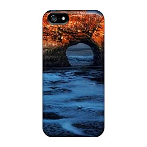 New Dorisshop Super Strong Majestic Beach Arch Tpu Case Cover For Iphone 5/5s