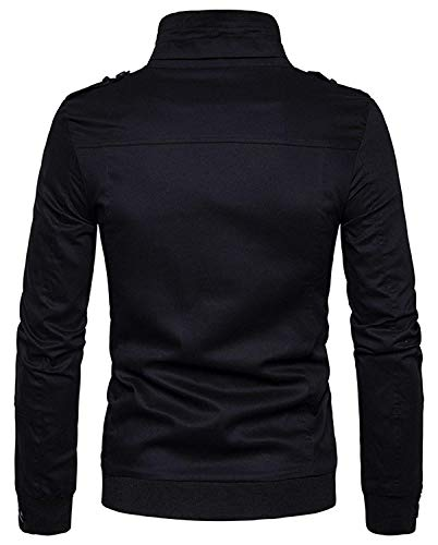 Hop Outerwear Color Chaqueta Size Jacket Clásico Hip Harrington Chaquetas Black 5 fashion Sleeve Urban Long De Basic S Bomber Unisex Laisla Béisbol Chicos xwUtnFUa