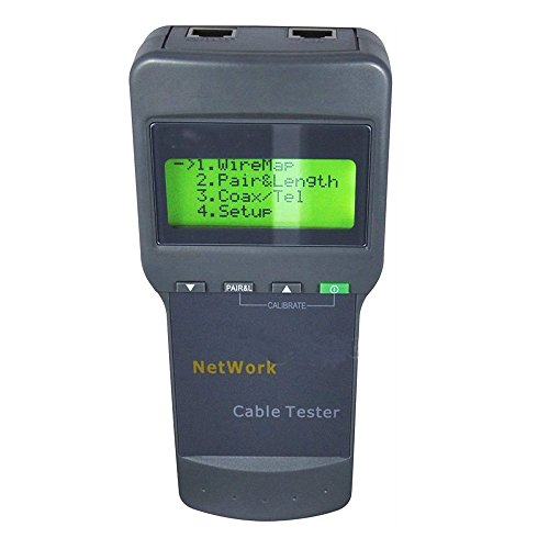 DBPOWER TD0091 Sc-8108 5E 6E Cat5 Rj45 Network Lan Phone Cable Multifunction Tester Meter, ()