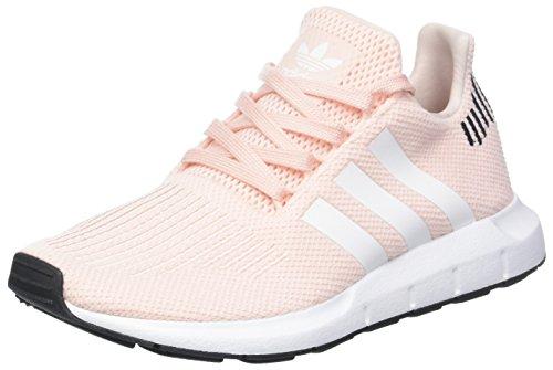Blanc Run Adidas Noir Rose Femmes Pink icey Baskets F17 Core Swift p48qwA
