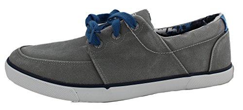 Pour Bateau Chaussures Gris Homme Sperry g74Uap