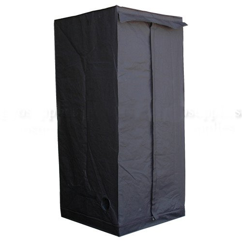 LEDwholesalers GYO1005A 78-Inch x 36-Inch x 36-Inch Mylar Reflective Hydroponic Grow Tent