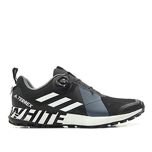 Adidas Y3 Shoes - adidas Men White Mountaineering Terrex Two Boa Black Footwear White core Black Size 8.0 US