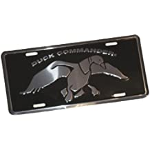 Duck Commander License Plate