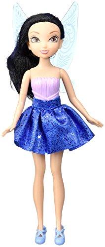 """Disney Fairies Confetti Fun Silver Mist Doll, 9"""""""