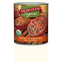 Muir Glen Organic Diced Tomatoes Fire Roasted 28 oz (Pack of 2)