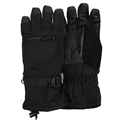Womens Waterproof Quilted Utility Winter