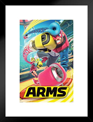 Pyramid America Arms Video Game Gaming Matted Framed Poster 20x26 inch (Best Arms For Mechanica)