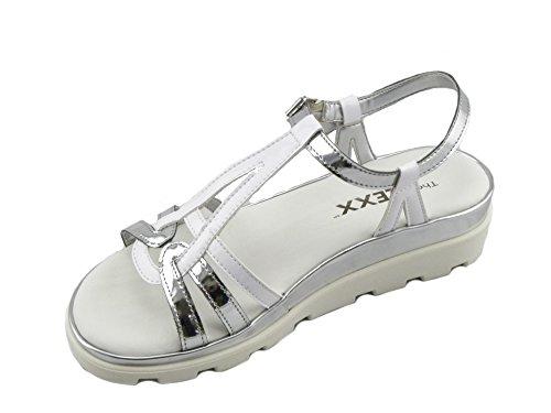 The Flexx D1507_14 Sandales Femme Bianco oxsa6YG0Gu