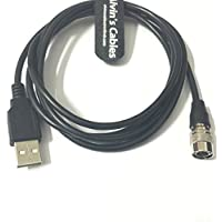 4 pin hirose male to USB data cable For Camera Computer Video