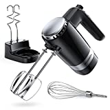 SHARDOR Upgraded Electric 2 x 5-Speed Hand Mixer 300 Ultra Power Heavy...