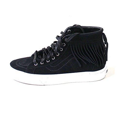 Alte Bianco Moc Donna suede Sk8 nero Sneakers 315jtz Vans Frange hi OEqBwxz
