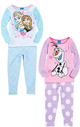 Disney Frozen Toddler 4 Piece Pajamas