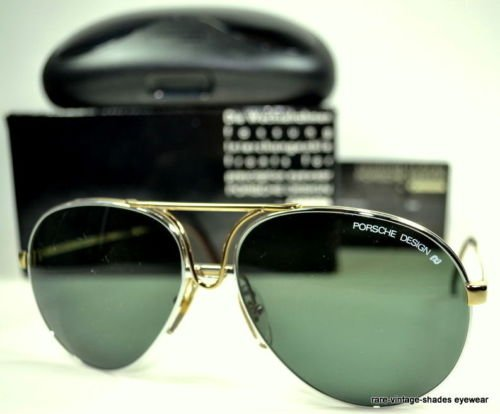 ffc6795fb58c Amazon.com  CARRERA PORSCHE DESIGN 80 s Vintage 5657 40 Sunglasses AVIATOR  60-15  Health   Personal Care