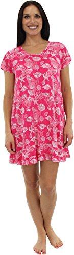 bSoft Seashells Pink Nightshirt - S/M