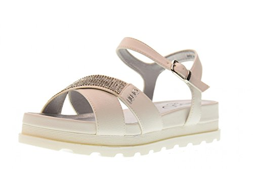 LIU JO GIRL Shoes Woman Low Sandal L3A2-00391-0092100 White Size 32 White 50326d8bba4
