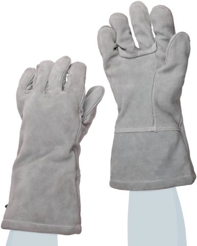 Ansell Cotton Gloves (Ansell ActivArmr Mission Critical Gear 46-101 Leather Welder Glove, Small (Pack of 1 Pair))