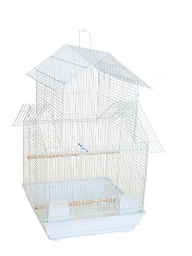 YML A1644 3/8″ Bar Spacing Pagoda Top Small Bird Cage