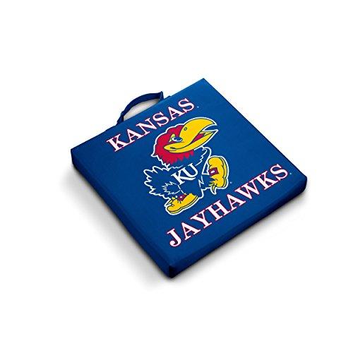 (Logo Brands NCAA Kansas Jayhawks Bleacher Cushion)