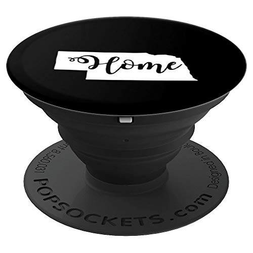 Nebraska Phone - Nebraska Map Home USA Cell Phone Accessory - PopSockets Grip and Stand for Phones and Tablets