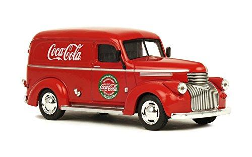 Vintage Delivery Truck - Coca-Cola 1/43 1945 Panel Delivery Van