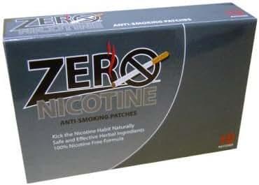 Zero Nicotine Anti-Smoking Patch
