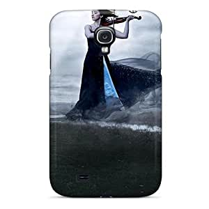 Durable Protector Case Cover With The Sound Of Violin Hot Design For Galaxy S4
