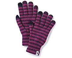 Lock in body heat and keep your hands warm when the temperature drops in the Smartwool Striped Liner Glove!The Smartwool community is a collection of people who believe that time outside is valuable, restorative, and essential for everyone.Wh...