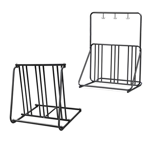 Yaheetech Bicycle Parking Storage Rack 1 6 Bikes Steel Park Stand