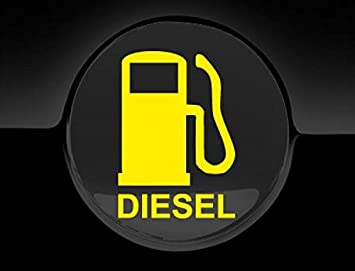Jcm Tankdeckel Aufkleber Auto Sticker Diesel Gelb Amazon De Auto