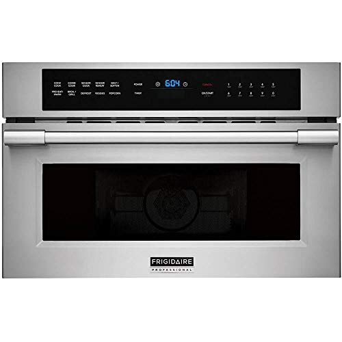 Electrolux FRIGIDAIRE Professional 30'' Built-in Convection Microwave Oven with Drop-Down Door FPMO3077TF, Stainless Steel (Convection Microwave Frigidaire)