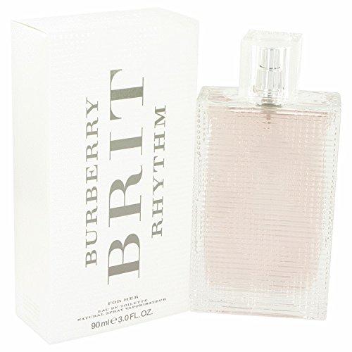 Brit rhythm perfume for women by burbrry 3 oz eau de toilette spray tester a free ralph rocks 17 oz shower gel