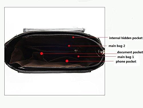 hombro mensajero de bolsa hombro viaje Capacidad 20L las Brown bolsa multifunción del mochila hombro bajo de mujeres de mochila honda q6RwYvwZ