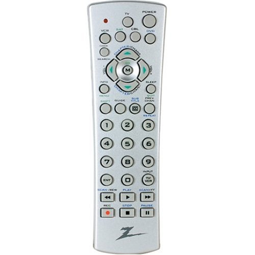 NEW Zenith Universal Remote 5 Devices Factory Sealed ZN 5015
