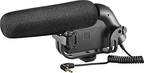 Insignia - On-Camera Shotgun Video Microphone - Black
