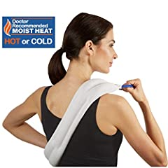 Bed Buddy Heat Pad And Cooling Neck Wrap - by Carex Health Brands  Instantly Soothe Your Tired and Sore Muscles With This Microwave Heating Pad and reusable ice pack for injuries. The bed buddy original neck wrap will treat tired and sore mus...