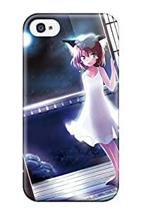Elliot D. Stewart's Shop animal cat madobe Anime Pop Culture Hard Plastic iPhone 4/4s cases