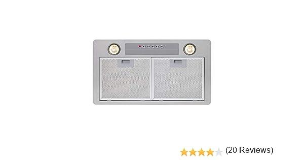 CATA GT Plus Encastrada Blanco 820m³/h - Campana (820 m³/h, 49 dB, 65 dB, Encastrada, Blanco, 50 W): Amazon.es: Grandes electrodomésticos
