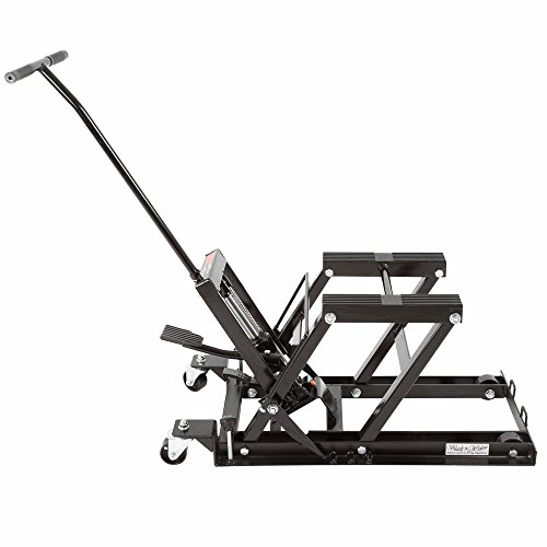 Black-Widow-BW-0101-Hydraulic-Motorcycle-Lift