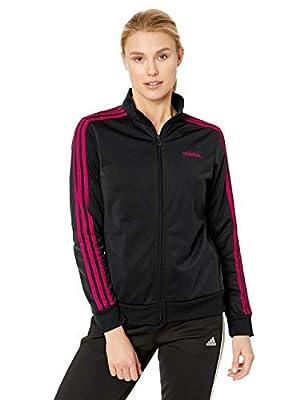 adidas Women's Essentials 3-stripes Tricot Track Jacket