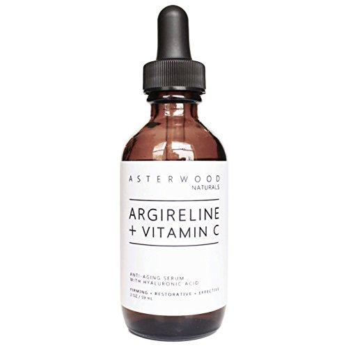 ARGIRELINE Peptide + Vitamin C 2 oz Serum with Organic Hyalu