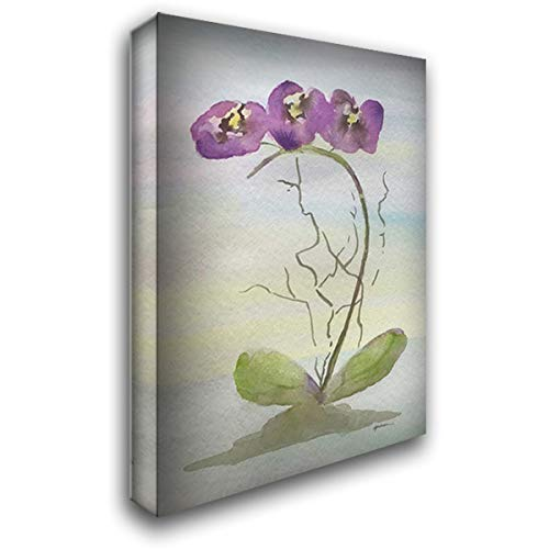 Orchid Duo 2 48x72 Huge Gallery Wrapped Stretched Canvas Art by Pearson, Debbie