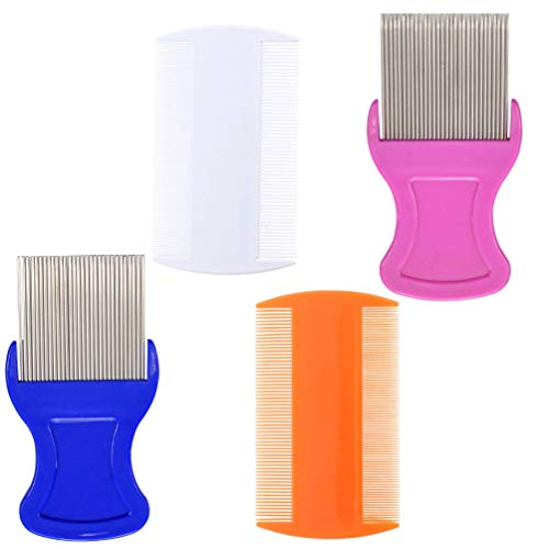 Head Lice Comb - Head Hair Comb Double Sided Removal Dandruff Comb