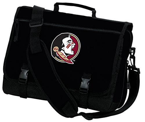 Broad Bay Florida State University Laptop Bag FSU Computer Bag or Messenger Bag by Broad Bay