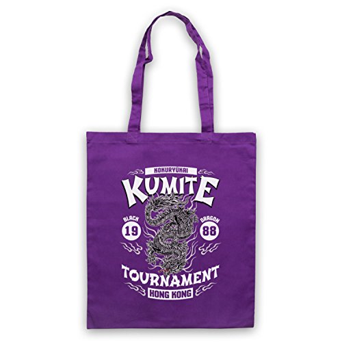 Purple Tournament Black 1988 Tote Bloodsport Bag Kumite Dragon x0gZpnCwUq