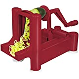 Big Boss Slice-A-Roo Fruit and Veggie Peeler, Red by Big Boss