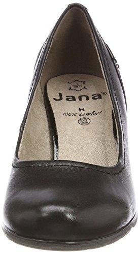 Pumps Jana Schwarz Damen Black 22404 TqqaHn6