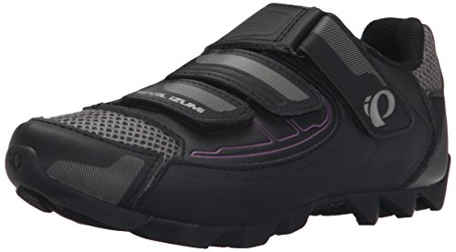 Pearl iZUMi Women's W All-road Iii B/b Cycling Shoe, Black/Black, 43 EU/10.8 B US