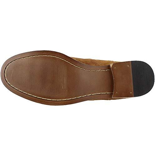 Crevo Men S Denham Chelsea Boot Chestnut Suede 8 5 M Us